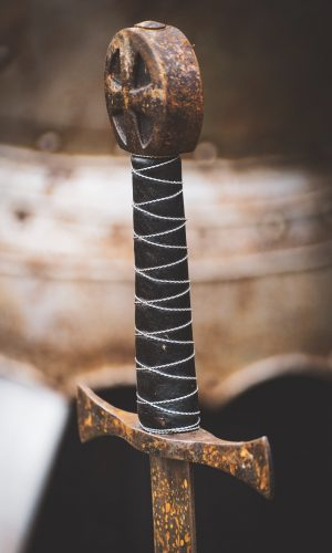manche épée